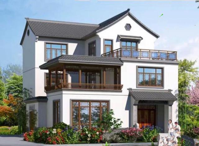 今天的185平米的三层别墅的平面设计图和外观效果图,更令人兴奋的是未来的别墅!