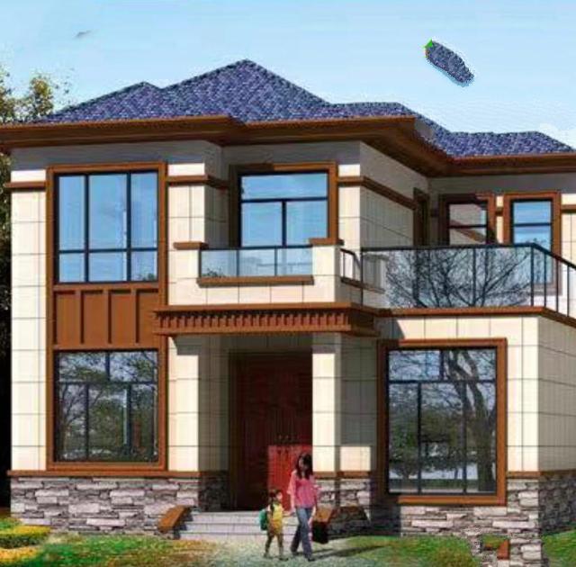 二层豪华别墅设计图