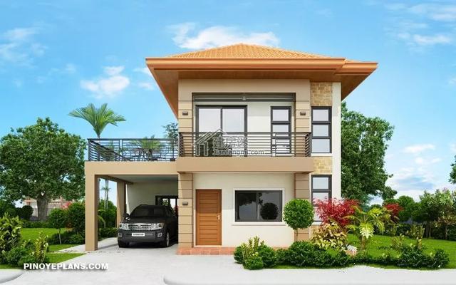建筑图纸——新农村自建小型9m×10m两层度假别墅设计图纸!