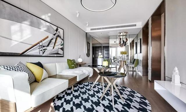 125平方米的三居室设计,10万元的简单装修风格有什么效果?