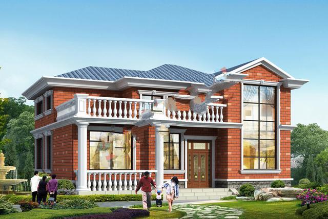 二层简单漂亮的小别墅