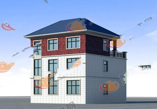 农村三层楼房设计