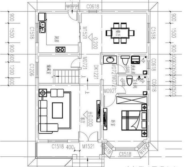农村自建住宅设计图